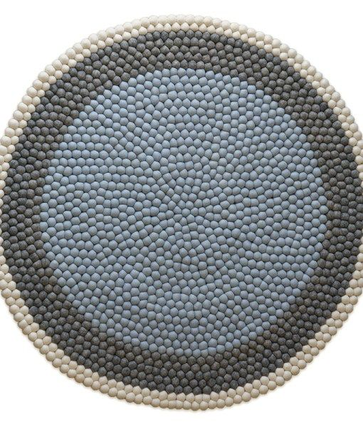BJORN FELT BALL RUG | Six By Eight | Store