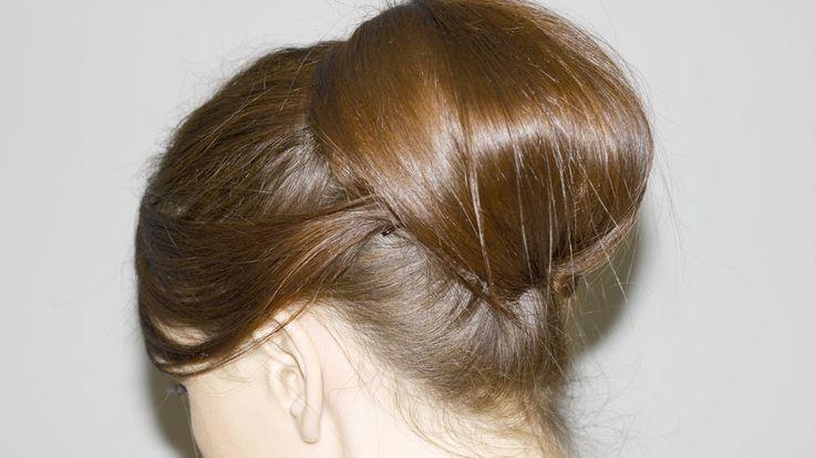 Recogido Vintage, Elegante y Fácil - media melena y cabello largo -