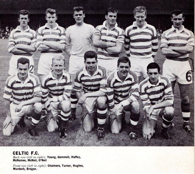 Celtic Team Line-Up 1963-64 - Pic
