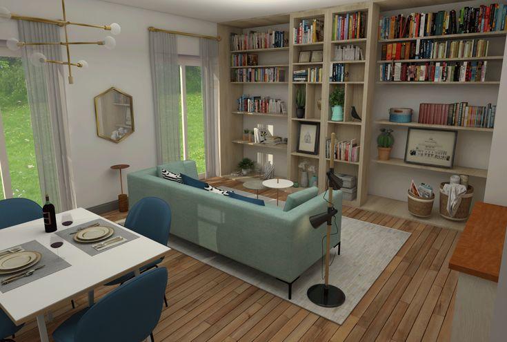 Casa de una mujer de 34 años. Una casa para ella pero preparada para que su pareja se pueda mudar en cualquier momento