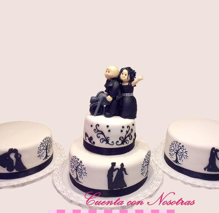 Torta novios Torta de boda Wedding Cake