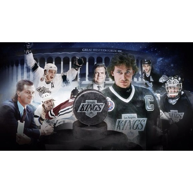 Gretzky, The Forum, etc...looking fondly on the past and hopeful for the future.  Stanley in LA!  2012 <3Cups Champs, 2012 Stanley, Stanley Cups