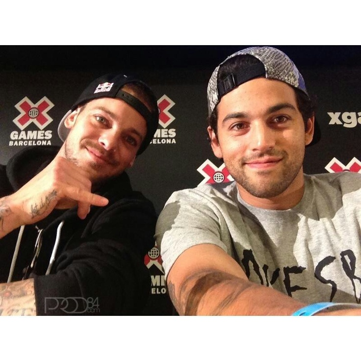 Ryan Sheckler and Paul Rodriguez :) Skaters are so attractive! Perfect!