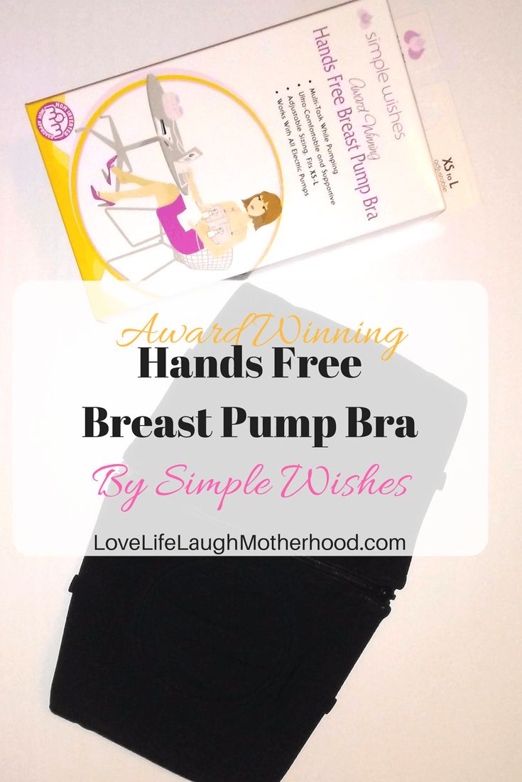 Award Winning Hands Free Breast Pump Bra by Simple Wishes