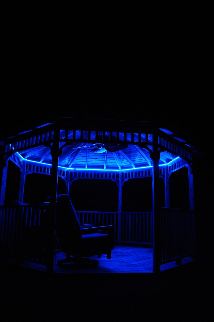 10 Great Deck Lighting Ideas For Your Outdoor Patio: 17 Best Images About Gazebo Lights On Pinterest