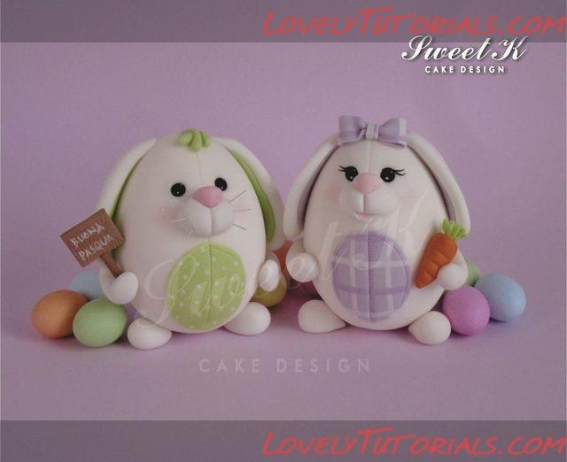 Easter Bunnies Cake Topper Tutorial