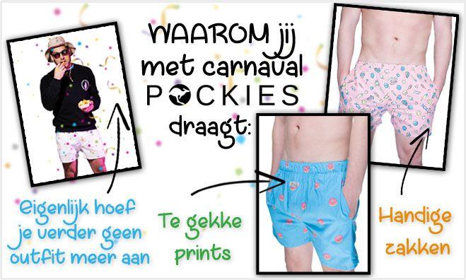 Carnavallen met Pockies!  Ga je carnavallen en heb je geen zakken in je carnavalsoutfit dan hebben wij dé ideale oplossing; POCKIES , de onderbroek met zakken voor je sleutels, pinpas, telefoon etc. Shop snel hier; https://www.twyst.nl/heren/pockies Ook voor de thuisblijvers een uitkomst because pants slow you down... #pockies #underwear #onderbroek #short #boxer #boxershort #carnaval #carnavallen #becausepantsslowyoudown #onderbroek #onderbroekmetzakken