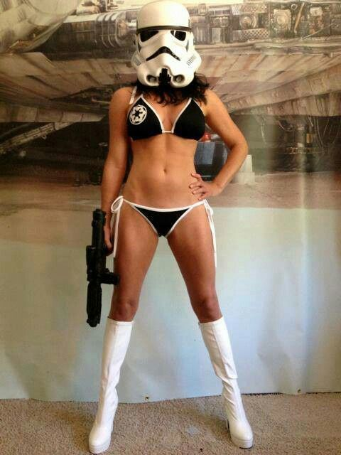 Lady Stormtrooper | Anything Star Wars.... | Star wars ...
