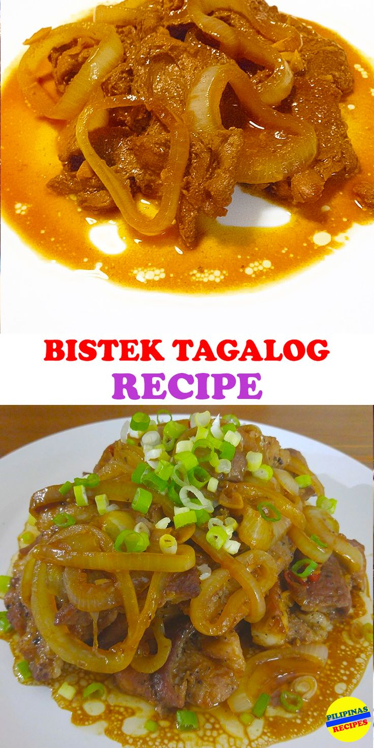 818 best filipino asian foods and recipe images on pinterest this bistek tagalog recipe is a filipino version of beef steak it is made with forumfinder Images