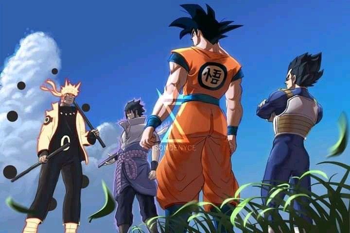 Naruto X Dragon Ball Dragon Ball Super Manga Anime Dragon Ball Super Anime Naruto
