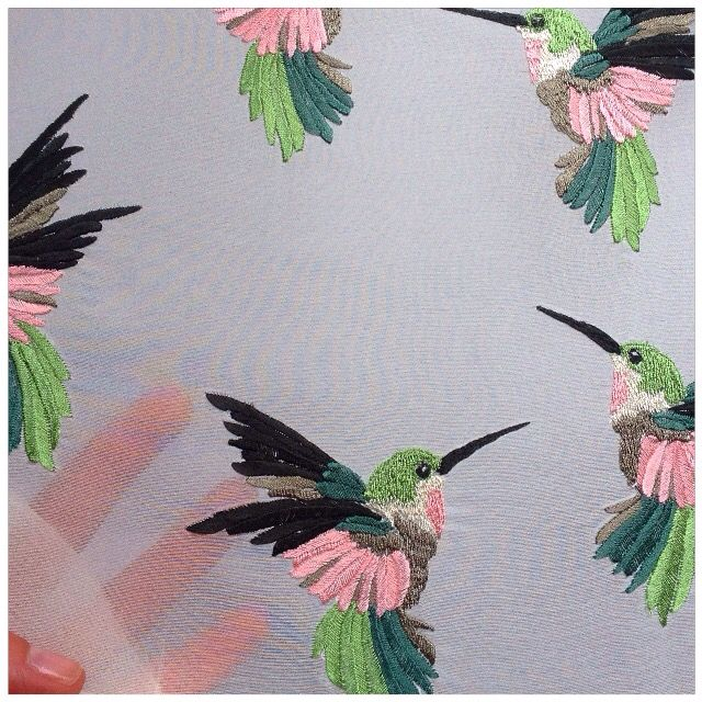 Embroidered Birds ✖️ Ellie Mac Embroidery