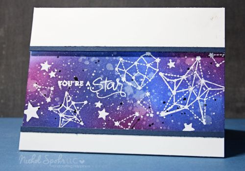 You're a star! Nichol gets crafty with the Simon Says Stamp August card kit!