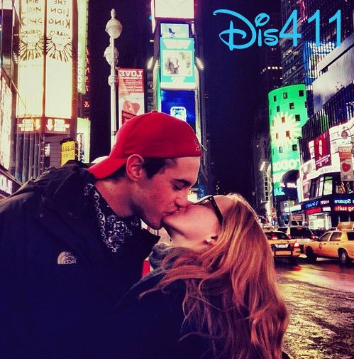 Photo: Dove Cameron And Ryan McCartan's Sweet Moment In New York City February 15, 2014