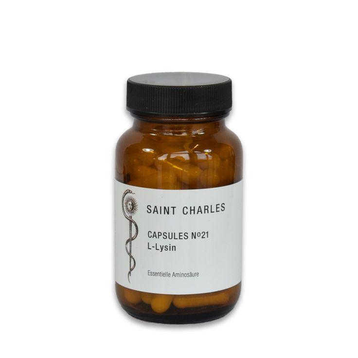 Saint Charles Capsules N°21 - L-Lysin Essential amino acid