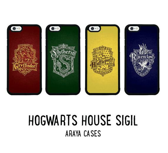Harry Potter Phone Case Gryffindor Slytherin Ravenclaw Hufflepuff Hogwarts iPhone 5 5s 5c 6 6s plus Cover Samsung Galaxy S4 S5 S6 edge S7