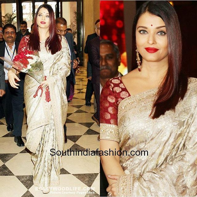 Here's reminiscing ten of our favourite instances when Aishwarya Rai wore Manish Malhotra's sarees, lehengas and anarkalis and looked amazing in them.