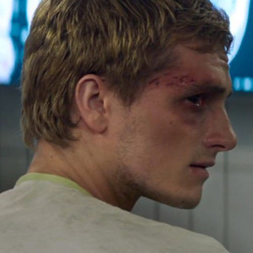 New Mockingjay Trailer Features a Bruised and Bloody Peeta Like this.