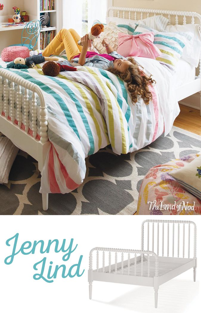 Our Jenny Lind Kids Beds feature intricate woodturnings that'll add an elegant touch to any kids' bedroom. Plus, it's available in a variety of exclusive finishes.