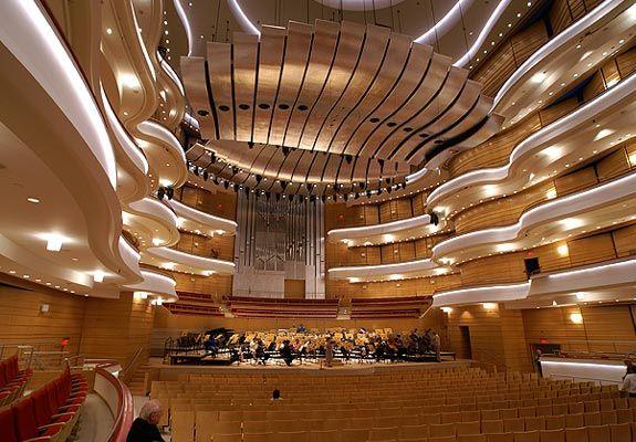 Ren 233 E And Henry Segerstrom Concert Hall Segerstrom Center