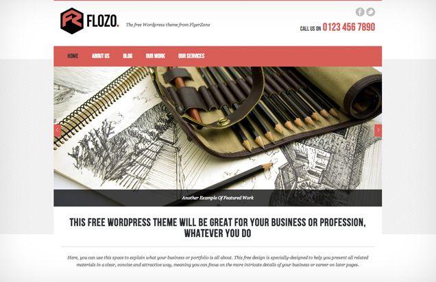 Free Flozo WordPress Theme (poss sdcc)
