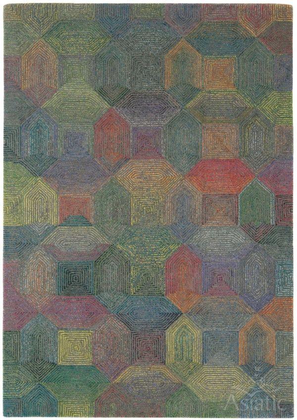 Dywan Asiatic Modern Wool CAMDEN Grey Multi TylkoDywan24.pl - Najlepszy Sklep z Dywanami