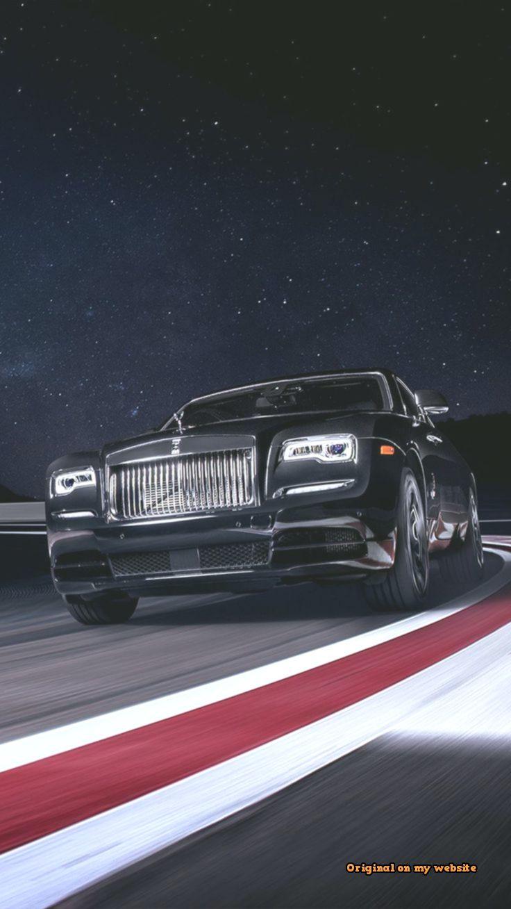 Lock Screen Wallpapers Rolls Royce Black Badge Wraith On Race