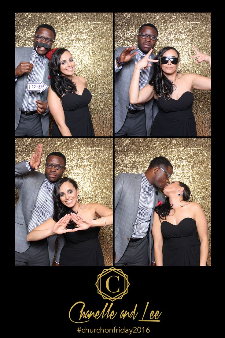 Wedding Photo Booth Gold Sequin Backdrop 4