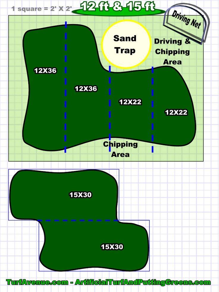 putting green design 5   Landscaping   Pinterest ... on Small Backyard Putting Green id=36361