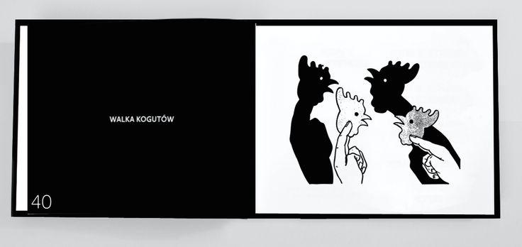 """""""Chińskie cienie. Wesoła zabawa dla wszystkich"""". Opracowanie graficzne - Adelina Sandecka, Formy graficzne. ArtEgmont 2017"""
