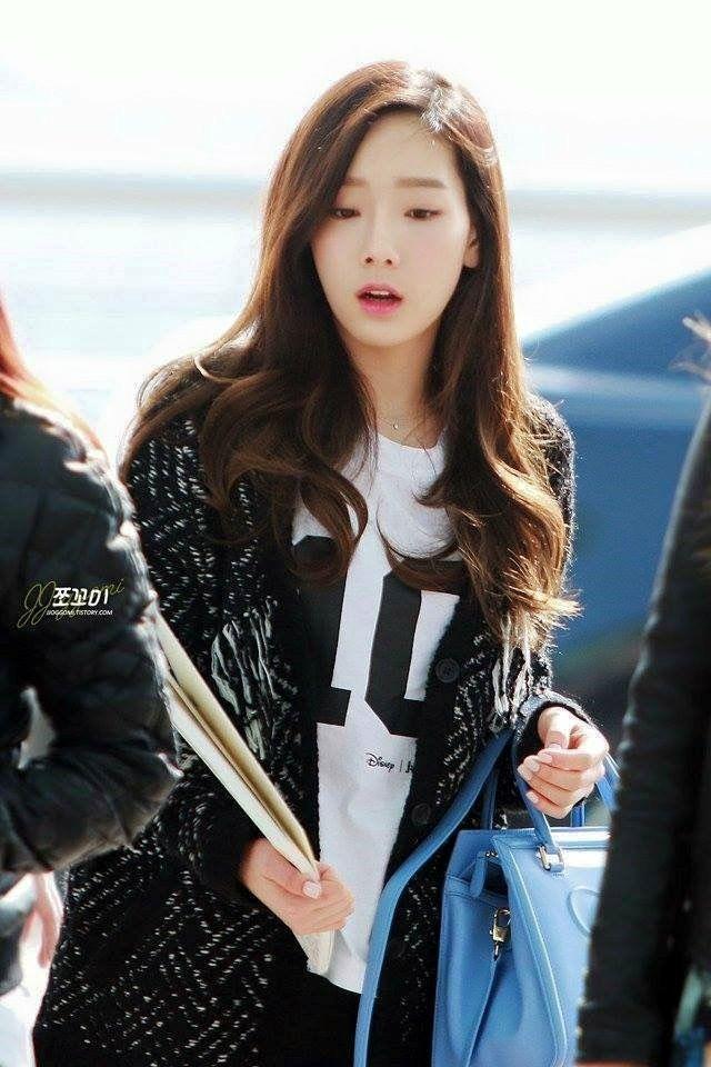 TaeYeon Airport fashion