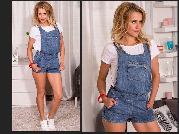 Jeansové šortky Zahradníčky  1430 > L/XL