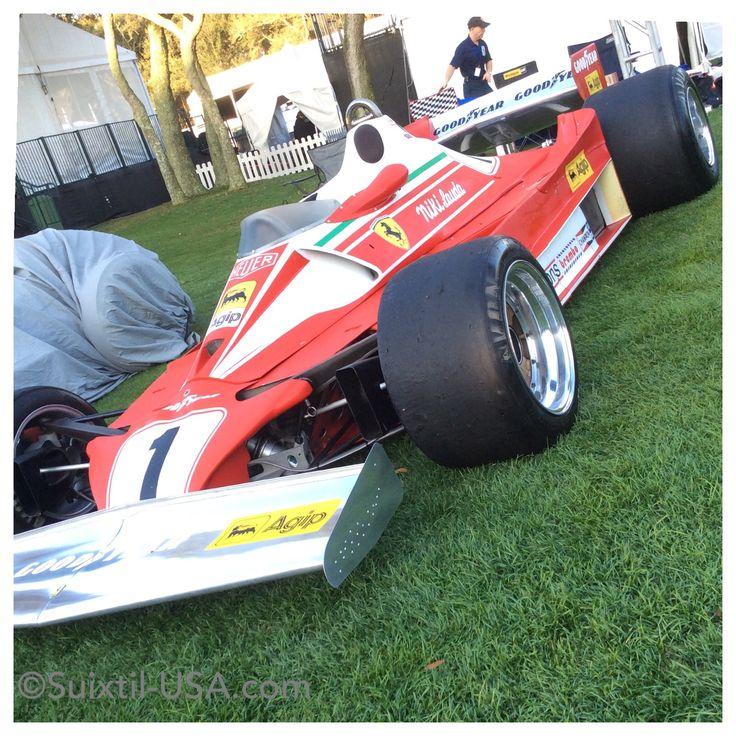 1976 Ferrari Formula 1 car driven by Niki Lauda. Ever seen that little movie Rush?