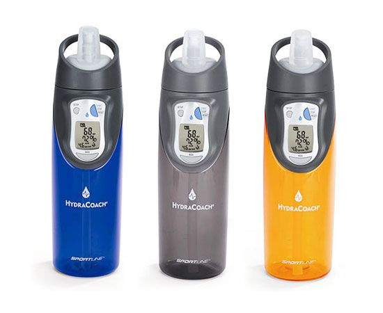 Calculates your personal hydration needs, tracks your consumption, paces you throughout the day and motivates you to stick to your goal. Find it on Amazon for $20.  I want for Christmas!!