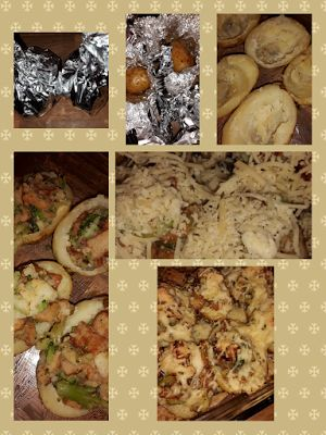 Lekker en leuk!: Gevulde aardappel met broccoli en kip kebab