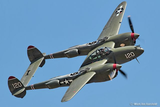 "Lockheed P-38L Lightning ""Thoughts of Midnite"" #plane #WW2"