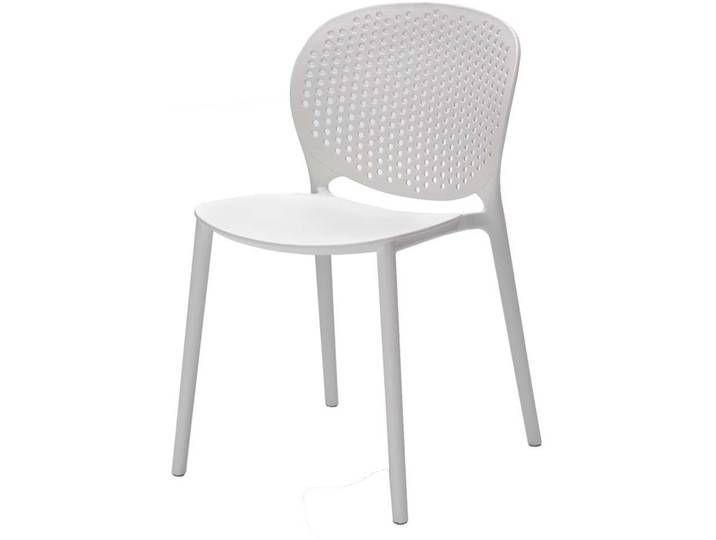 Kunststoffstuhl In Weiss Modern 4er Set Kunststoffstuhle Stuhle Modern