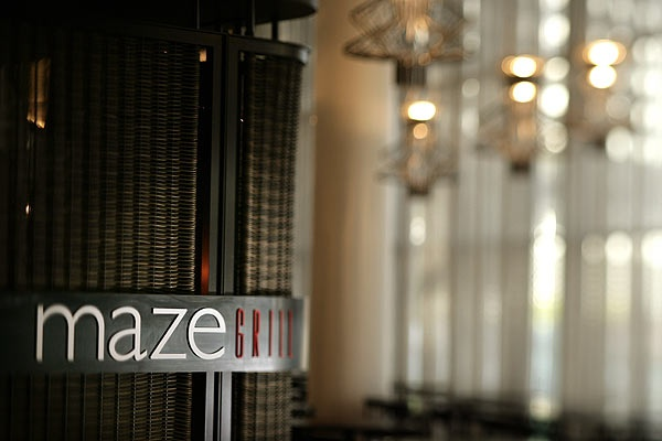 Gordon Ramsey's, Maze Restaurant Melbourne, fine dining, We went here with my Father in-law and his lovely wife, we had a beautiful degustation menu, it was an elegant evening with great attentive service.