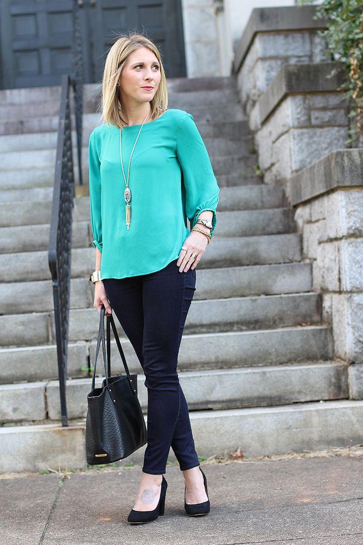 AEO Skinny Jeans, Weekend Casual, Berry Lip, Dressed Up Denim