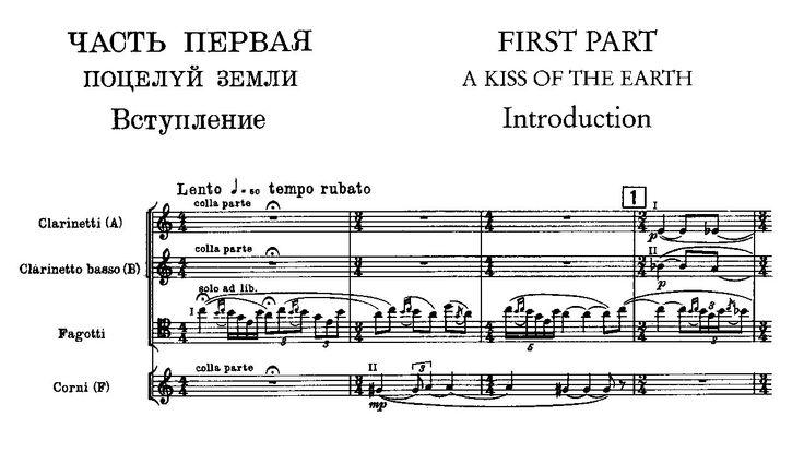 Igor Stravinsky - The Rite of Spring (1913)