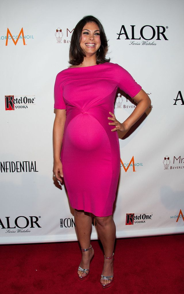 Morena Baccarin Maternity Dress | Star Style Maternity ...