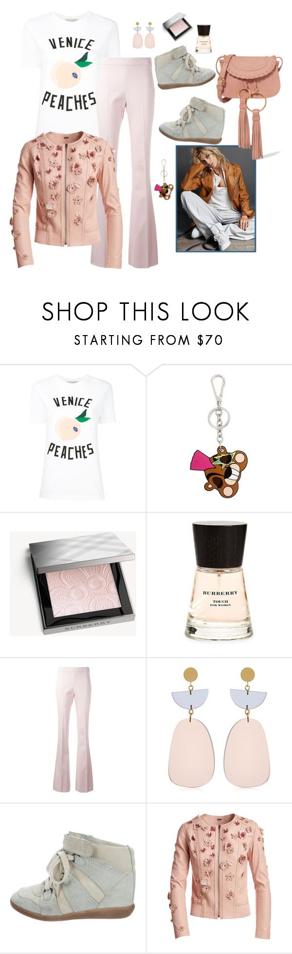 """""""Lazy Friday"""" by juliabachmann ❤ liked on Polyvore featuring Être Cécile, Dsquared2, Burberry, Giambattista Valli, Isabel Marant, Anja, Elie Tahari and See by Chloé"""