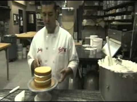 Cake Boss Icing Techniques : Icing a cake Buddy Valastro Style - YouTube Holidays and ...
