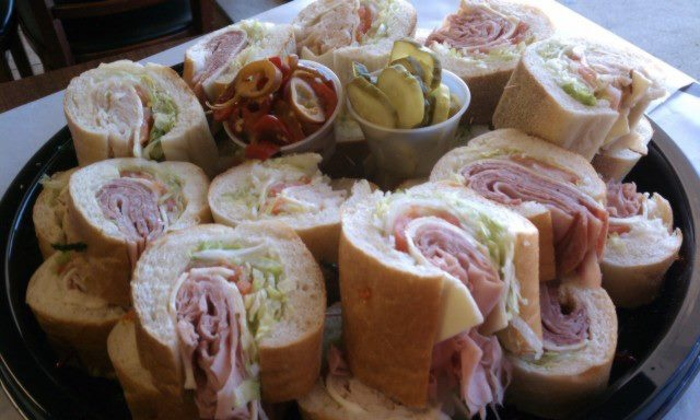 Hoagie trays are great for parties and we have them!