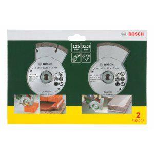 Bosch – 2607019484 – Disque Diamant pour Meuleuse Carrelage et Maçonnerie – 125 mm