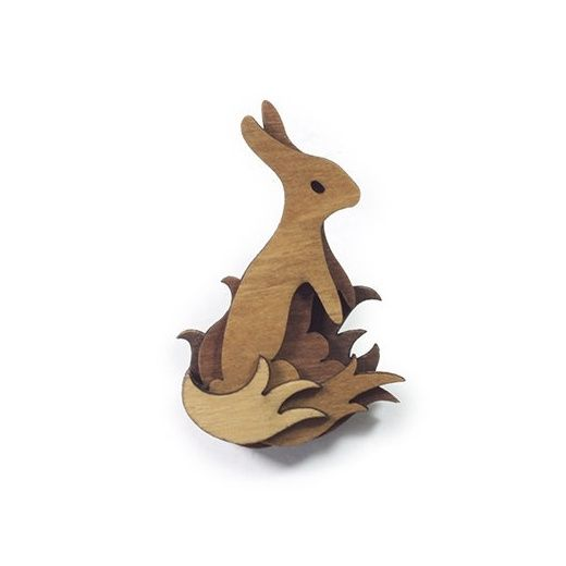 Guest Artist Woodland Friends and Animals Brooches - Martin Tomsky