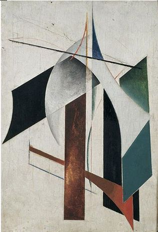 Alexander Rodchenko, Non-objective painting, 1917