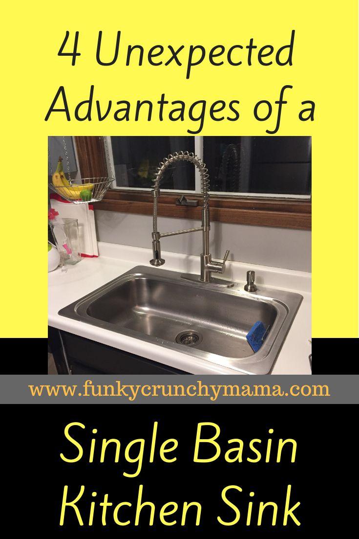 4 Advantages Of A Single Basin Kitchen Sink Single Basin Kitchen Sink Single Sink Kitchen Single Basin Sink