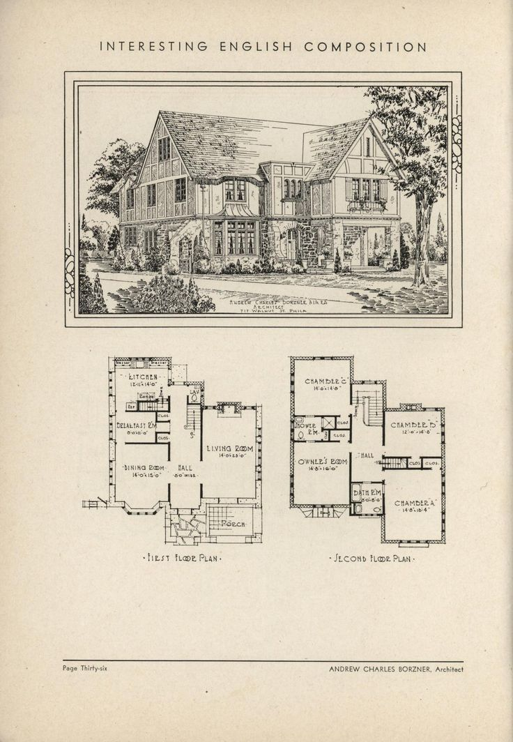 17 Best images about Historic House Plans on Pinterest House