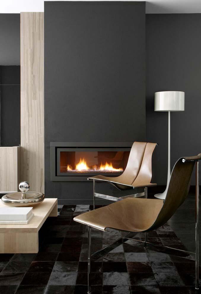 Wohnzimmer mit Kamin wie wählen und Tipps zum dekorieren Zuhause