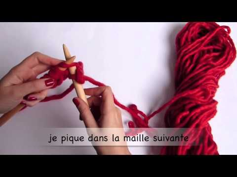 # Tricot # Comment tricoter en point mousse by WoolKiss